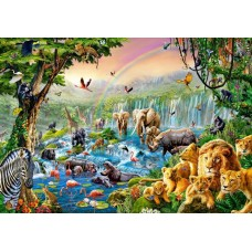 Puzzle Castorland 500 Jungle river