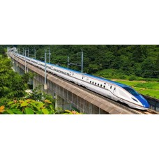 Puzzle Castorland 600 panoramic Tren de Viteza