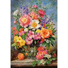 Puzzle Castorland 1000 Albert Williams : June Flowers in Radiance
