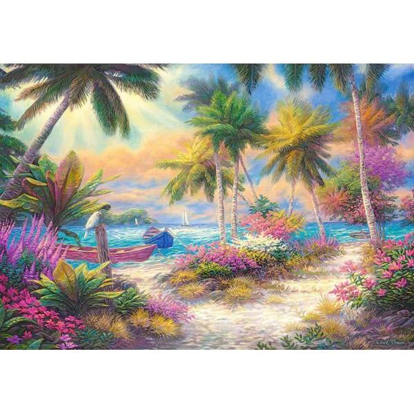 Puzzle Castorland 1000 Chuck Pinson : Isle of Palms