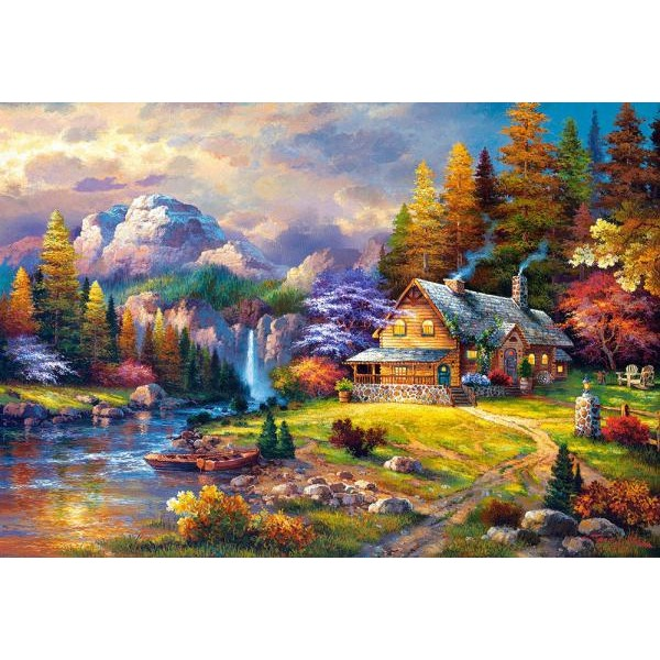 Puzzle Castorland 1500 James Lee : Mountain Hideaway