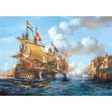 Puzzle Castorland 2000 Battle of Porto Bello, 1737