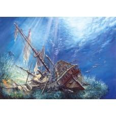 Puzzle Castorland 2000 Galion scufundat