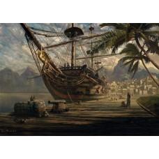 Puzzle Schmidt 1000 Sarel Theron : Ship at Anchor