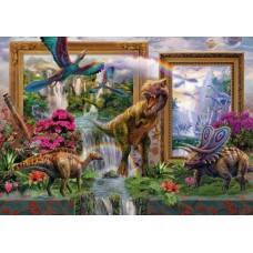 Puzzle Schmidt 1000 KRASNY : DINOSAURS - COMING TO LIFE