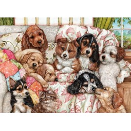 Puzzle Anatolian - Puppies 1000 piese (3162)