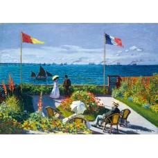 Puzzle Bluebird - Claude Monet: Garden at Sainte-Adresse 1867 1000 piese (60042)