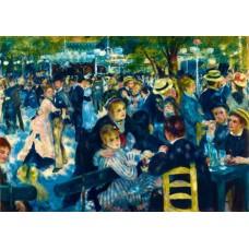 Puzzle Bluebird - Auguste Renoir: Dance at Le Moulin de la Galette 1876 1000 piese (60049)