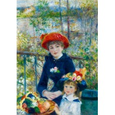 Puzzle Bluebird - Auguste Renoir: Two Sisters (On the Terrace) 1881 1000 piese (60050)