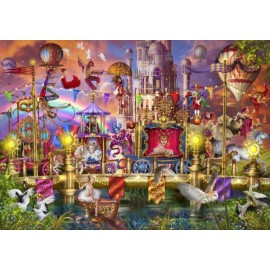 Puzzle Bluebird - Marchetti Ciro: Magic Circus Parade 1500 piese (70117)