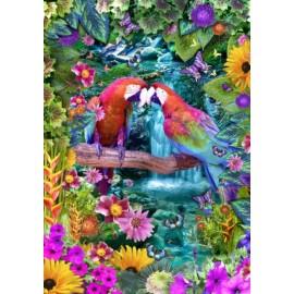 Puzzle Bluebird - Parrot Paradise 1500 piese (70138)
