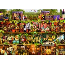 Puzzle Bluebird - Aimee Stewart: Wine Shelf 2.000 piese (70142)