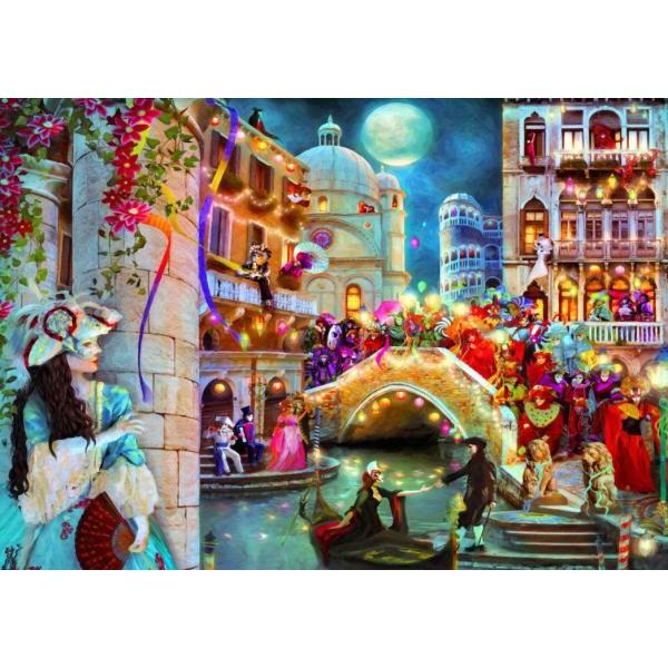 Puzzle Bluebird - Aimee Stewart: Carnival Moon 3.000 piese (70163)