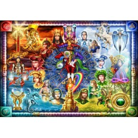Puzzle Bluebird - Marchetti Ciro: Tarot Of Dreams 1500 piese (70178)