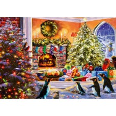 Puzzle Bluebird - A Magical View to Christmas 1000 piese (Bluebird-Puzzle-70228-P)