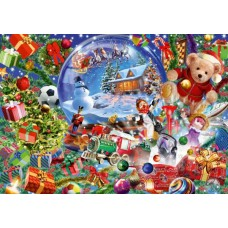 Puzzle Bluebird - Christmas Globe 1000 piese (Bluebird-Puzzle-70236-P)