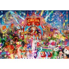 Puzzle Bluebird - Aimee Stewart: A Night at the Circus 1000 piese (Bluebird-Puzzle-70250-P)