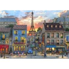 Puzzle Bluebird - Dominic Davison: Streets of Paris 4000 piese (Bluebird-Puzzle-70253-P)