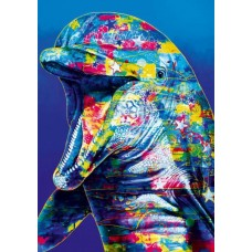Puzzle Bluebird - Dolphin 1000 piese (70302-P)