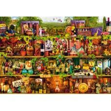 Puzzle Bluebird - Wine Shelf 1000 piese (70304-P)