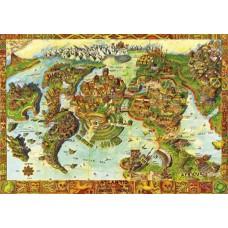 Puzzle Bluebird - Atlantis Center of the Ancient World 1000 piese (70317-P)