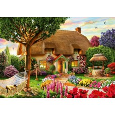 Puzzle Bluebird - Adrian Chesterman: Thatched Cottage 1000 piese (70319-P)