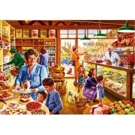 Puzzle Bluebird - Nostalgic cake shop 1.000 piese