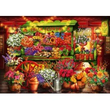 Puzzle Bluebird - Ciro Marchetti: Flower Market Stall 1.000 piese