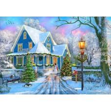 Puzzle Bluebird - Dominic Davison: Christmas at Home 1000 piese (70340-P)