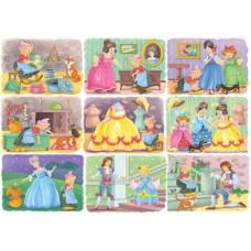 Puzzle Bluebird - Cinderella 100 piese (70354)