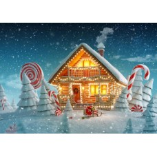 Puzzle Bluebird - Christmas Cottage 500 piese (70365)