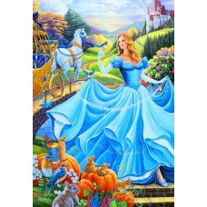 Puzzle Bluebird - Cinderella 260 piese (70389)