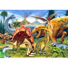 Puzzle Bluebird - Dinosaurs 100 piese (70406)