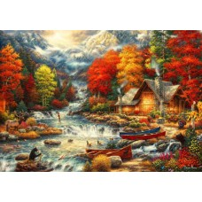 Puzzle Bluebird - Chuck Pinson: Treasures of the Great Outdoors 1000 piese (70408)