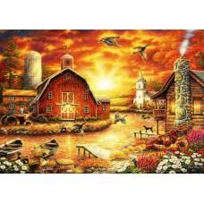 Puzzle Bluebird - Chuck Pinson: Honey Drip Farm 2000 piese (70416)
