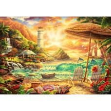 Puzzle Bluebird - Chuck Pinson: Love the Beach 1000 piese (70417)