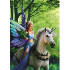 Puzzle Bluebird - Anne Stokes: Realm of Enchantment 1500 piese (70440)