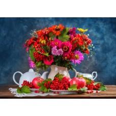 Puzzle Bluebird - Autumn Bouquet 1500 piese (70452)