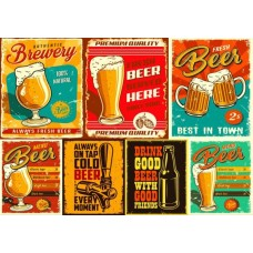 Puzzle Bluebird - Beers 1000 piese (70456)