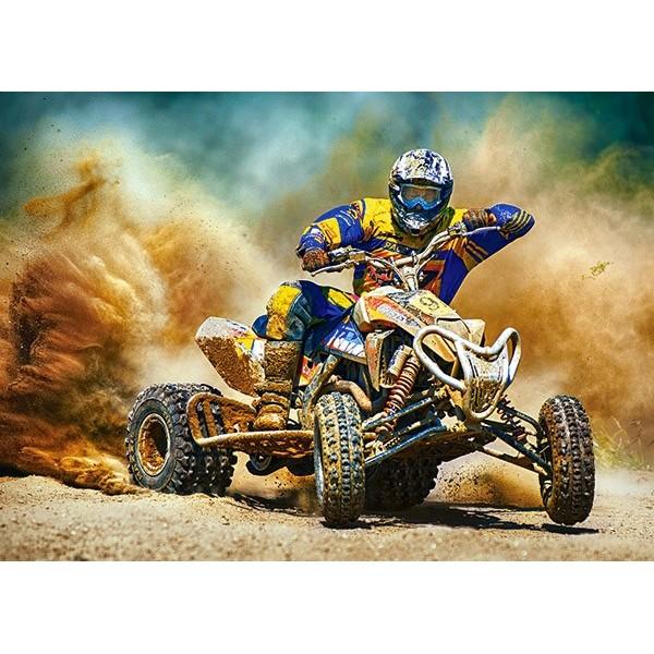 Puzzle Castorland - Quad in action 180 piese (018420)