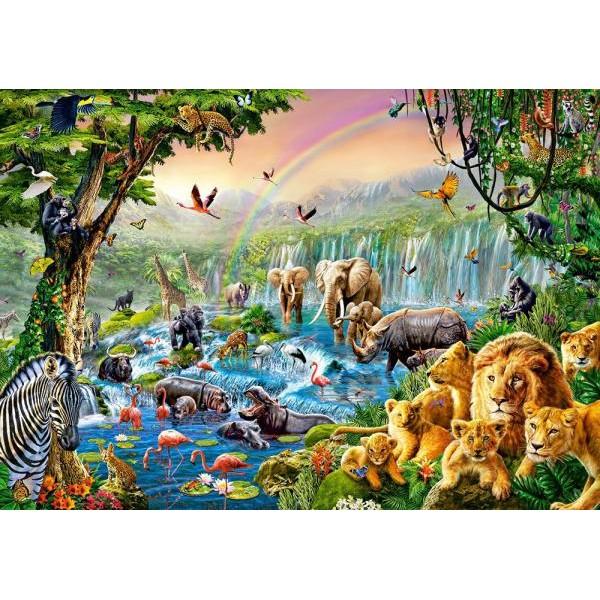 Puzzle Castorland - 500 de piese - Jungle river