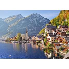 Puzzle Castorland - 500 de piese - Hallstatt, Austria