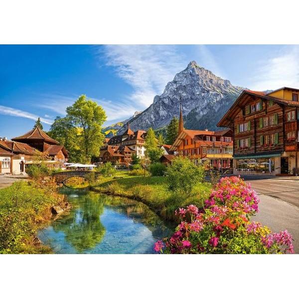 Puzzle Castorland - 500 de piese - Kandersteg Switzerland