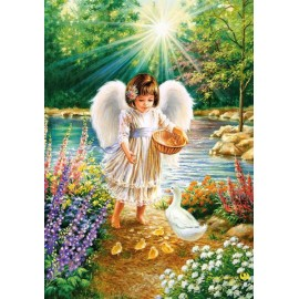 Puzzle Castorland 500 Dona Gelsinger: An angels warmth