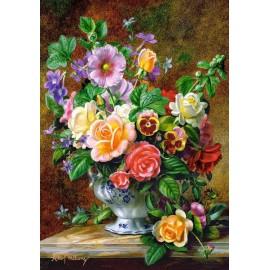 Puzzle Castorland 500 Albert Williams : Flowers in a vase