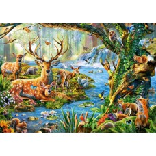 Puzzle Castorland 500 Adrian Chesterman: Forest life