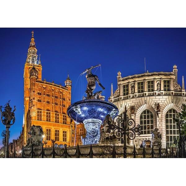 Puzzle Castorland 500 Gdansk Neptune Fountain