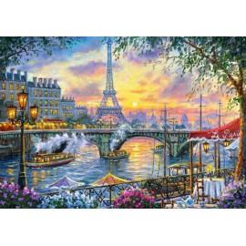 Puzzle Castorland 500 Robert Finale: TEA TIME IN PARIS