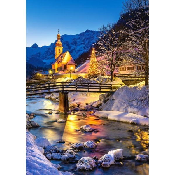 Puzzle Castorland 500 NIGHT IN RAMSAU GERMANY