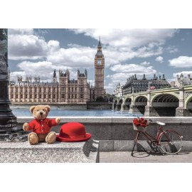Puzzle Castorland - Little Journey to London 500 piese (53315)